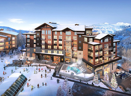 New Construction in Empire Pass // Argent & Sommet Blanc