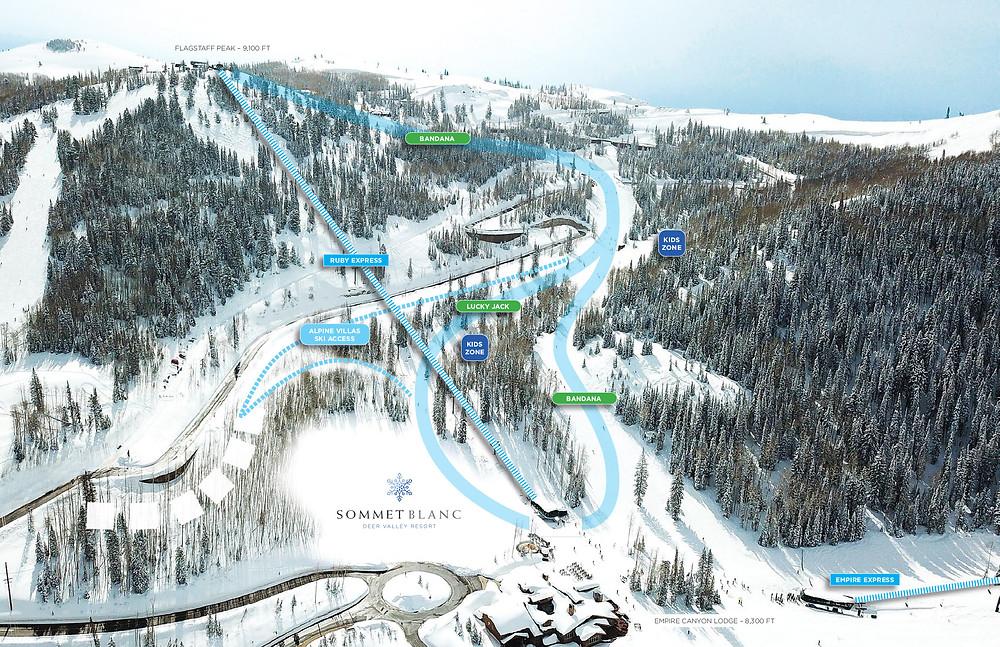 Sommet Blanc Ski Access