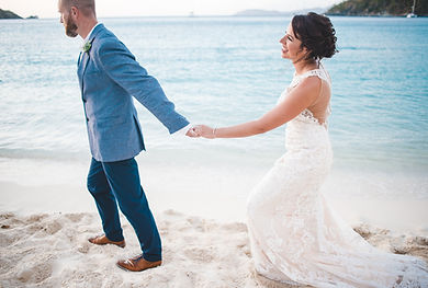 St John Beach Wedding Photography Hawksnest Beach St John USVI
