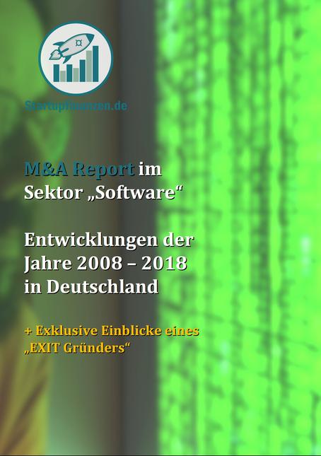 """M&A Report im Sektor """"Software"""" Entwicklungen derJahre 2008 – 2018 in Deutschland"""