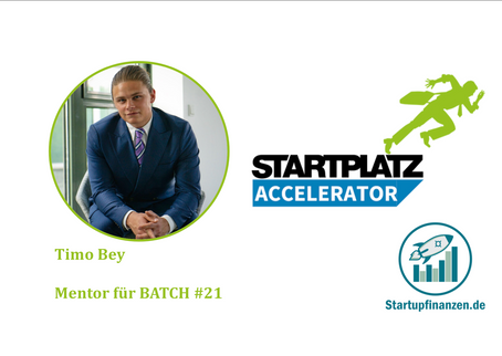 Mentoring Startplatz Accelerator Batch #21