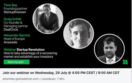 Startup Revolution (Webinar)