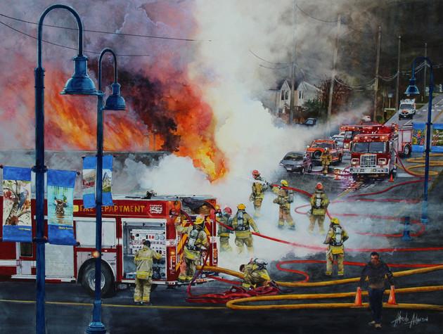 Crofton Fire
