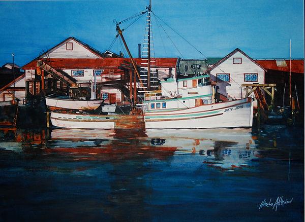 Harol Allanson Work Boats Bannr