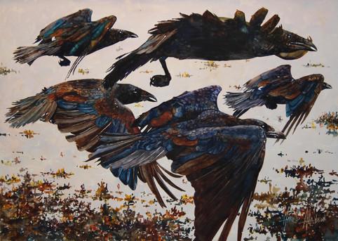 Flight of the Raven Spirits