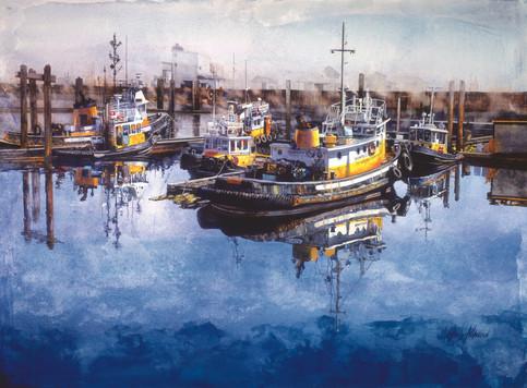 Lifting Fog Port Alberni