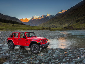 Jeep Wrangler is now assembled in India