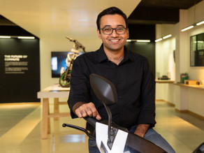 Ather reaches Mumbai : CEO shares his vision for the future
