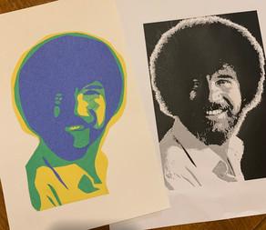 Cut Paper Portrait
