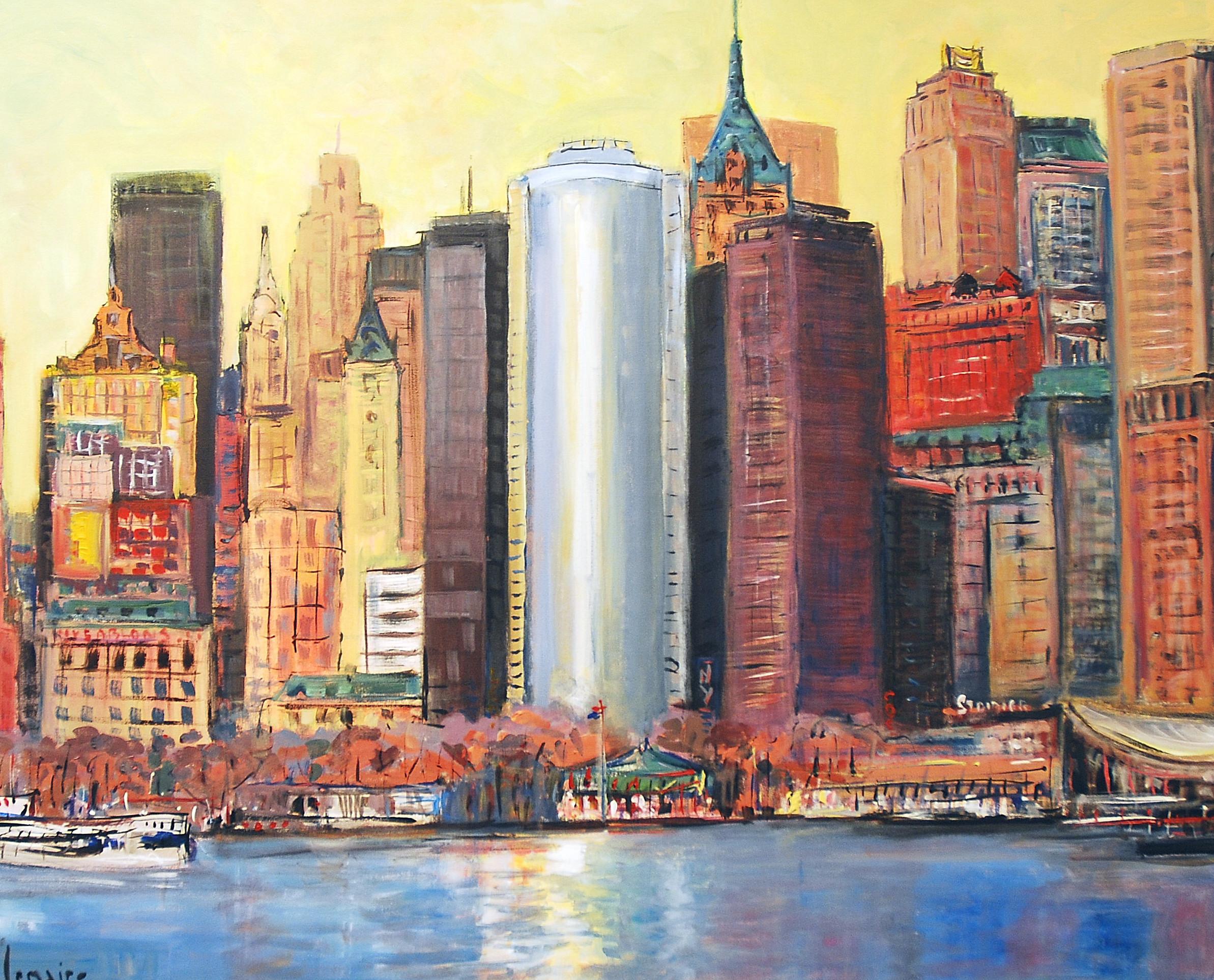 New York skyline one