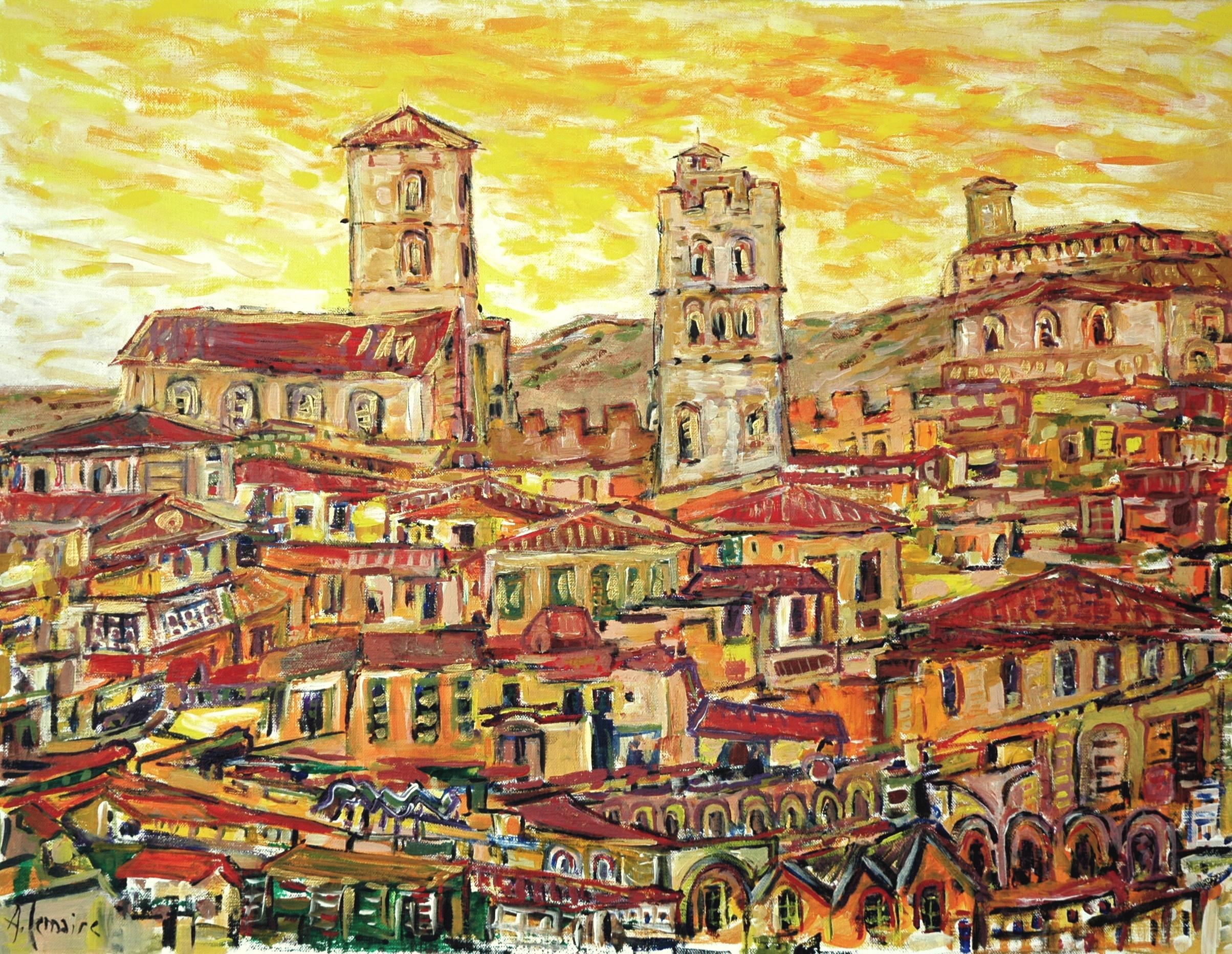 L'église et la tour, Toscane