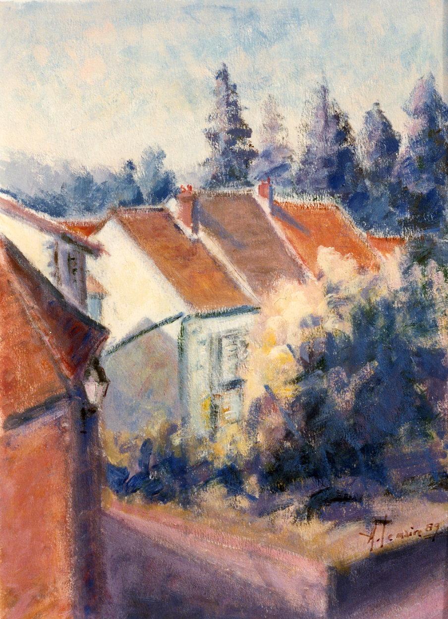 Les trois maisons, Auvers sur Oise