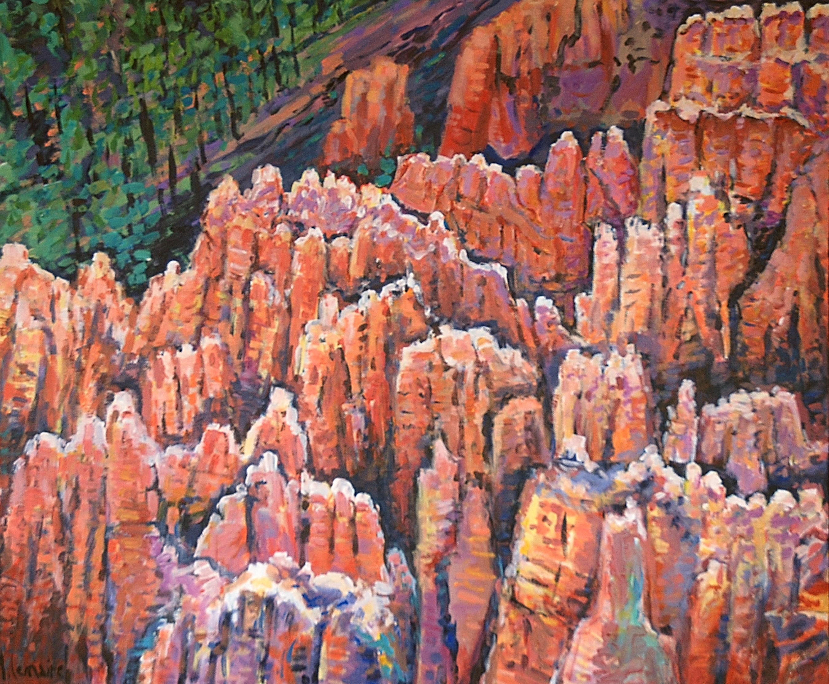 """Fantômes indiens"" à Bryce canyon"
