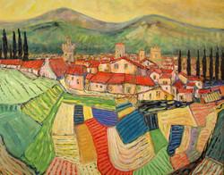 Les trois tours, Toscane