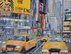 Taxis à Time square