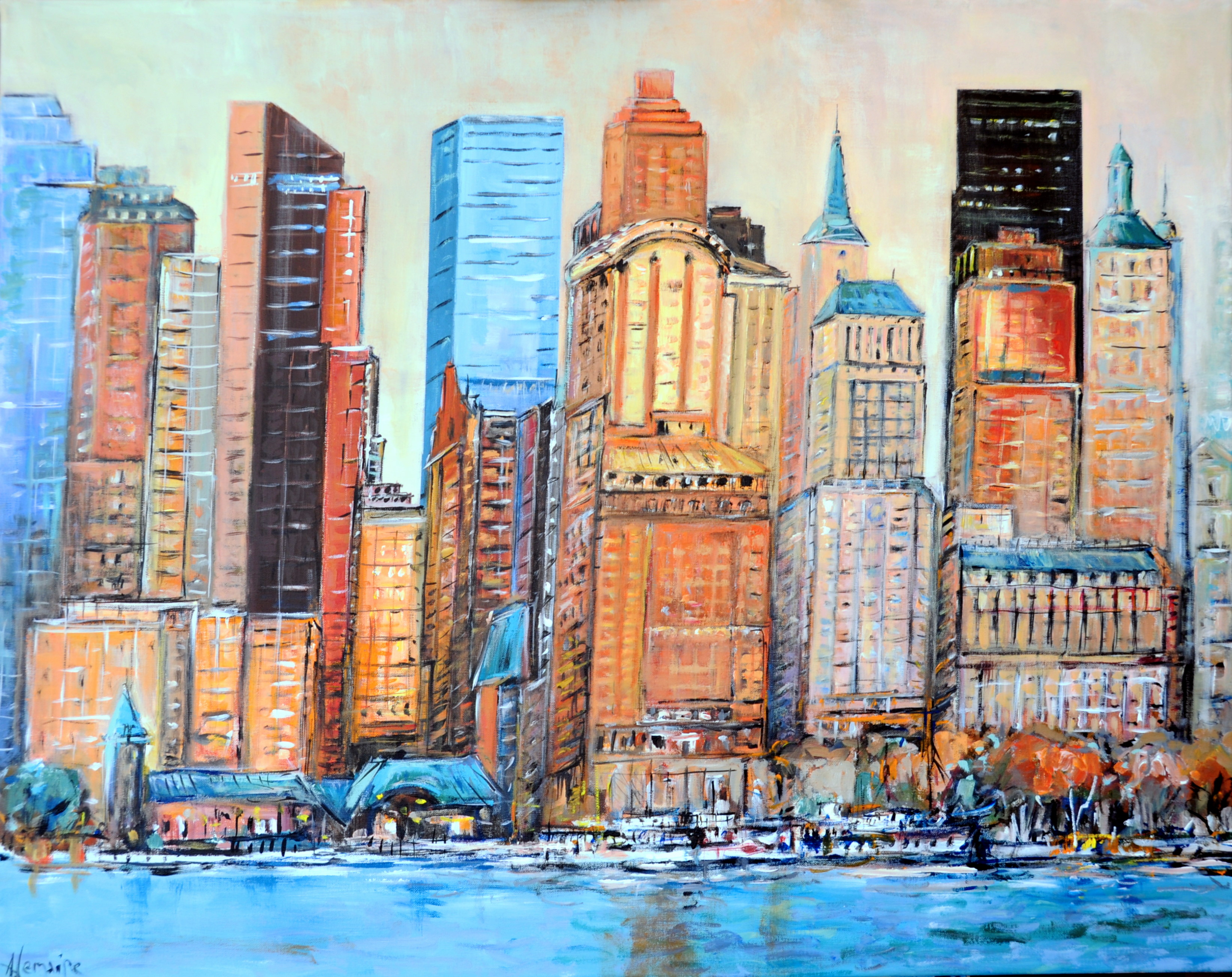 New York skyline 7