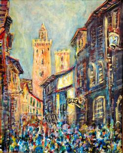 Rue principale, san Giminiano