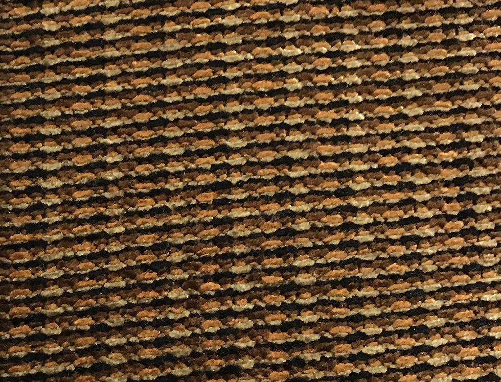 Black - Gold - Brown Woven Chennel
