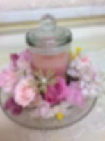 厚木市・南毛利公民館さんにて 「桜のキャンドルレッスン」を開催しました。
