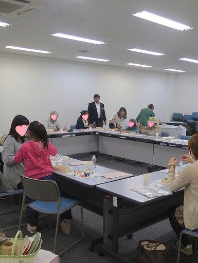20180414ハーバリウム講習会@厚木クリナップさん