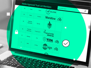 Benefits of Digital Signature Integrated With Adobe Approved Trust List