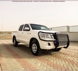 ARMOURED TOYOTA HILUX