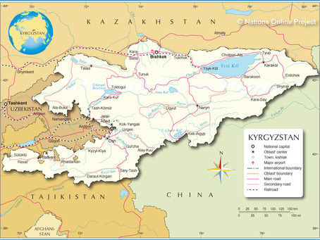 Chaos in Central Asia