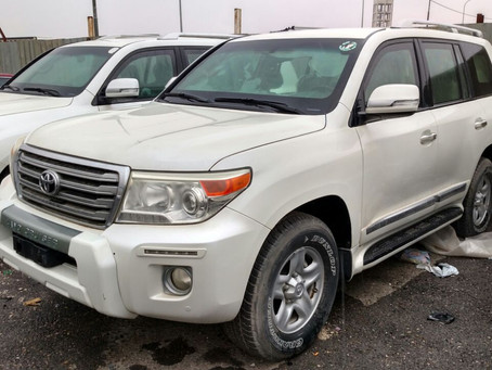 Low Mileage B6 Armoured Toyota Landcruisers 2015