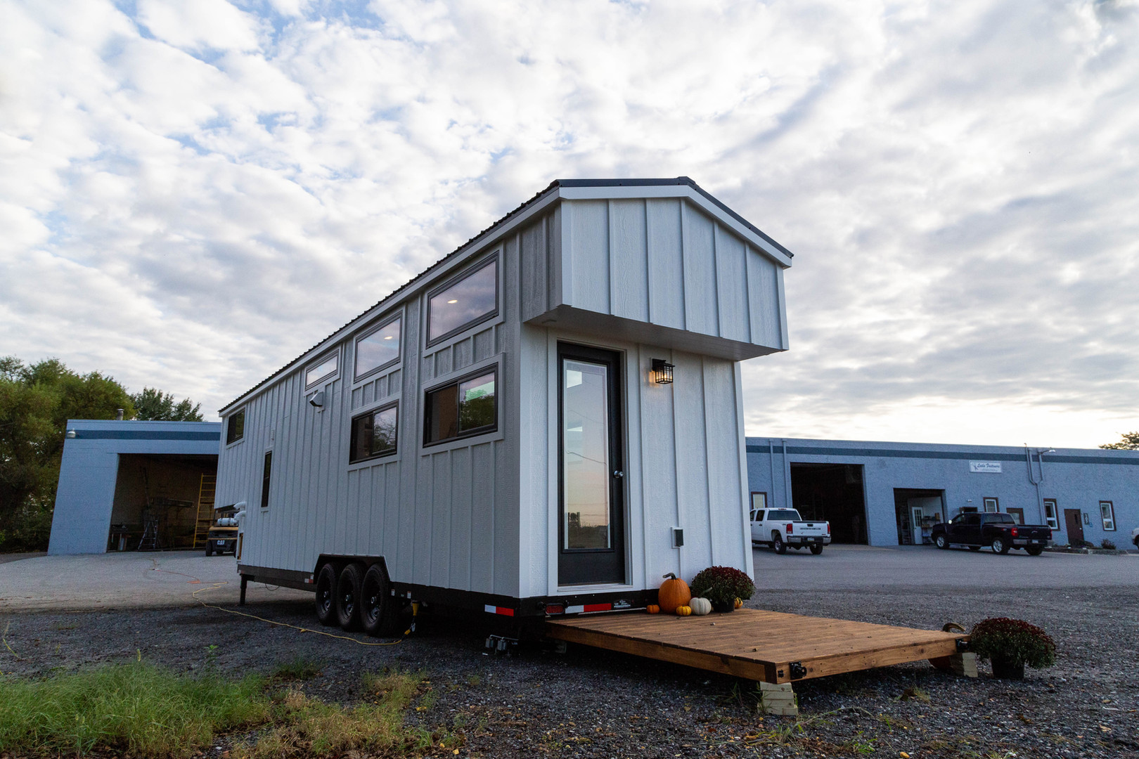 Gooseneck Tiny House on Wheels