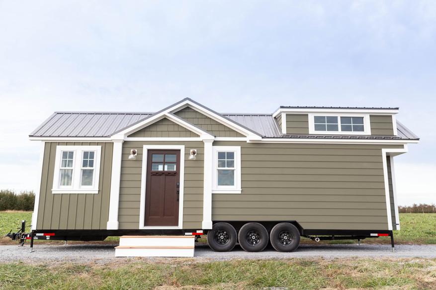 Craftsman Tiny House on Wheels