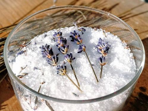 Lavender Love Floral Salt Soak