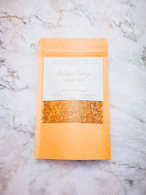 Golden Ginko Leaf Tea (Locally Grown)