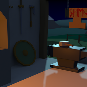 Low Poly Forge