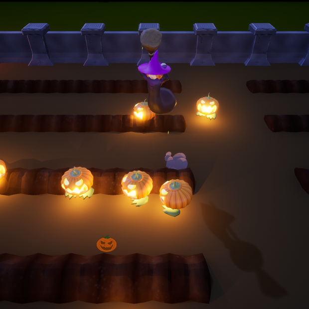 Pumpkin Popper Screenshot