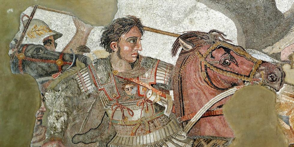 (2020) Conférence: Alexandre le grand: une étoile filante dans le ciel antique.