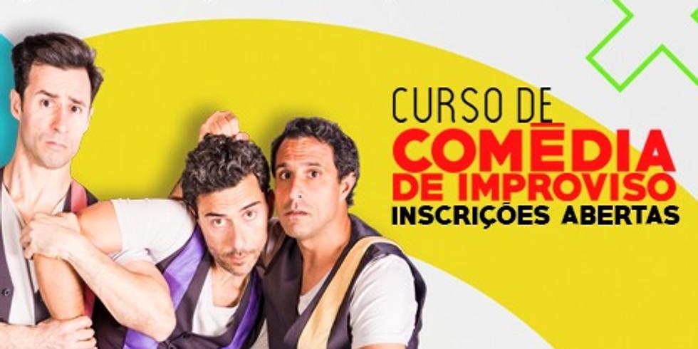 CURSO DE COMÉDIA DE IMPROVISO - M/16