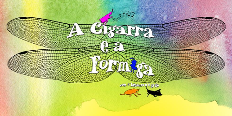 A CIGARRA E A FORMIGA COM O BESOURO E O GRILO - M/3