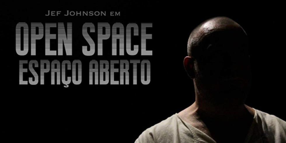 JEF JOHNSON EM OPEN SPACE - Sala Estúdio