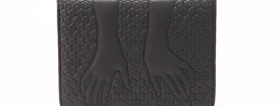 "Fetish Gloves Folio ""Authentic Black"""