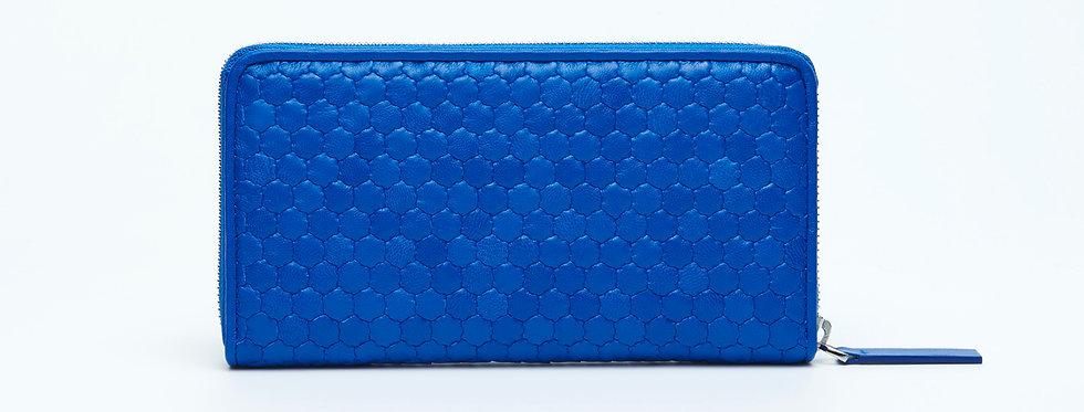 "Atelier_Round Zip Wallet ""French Blue"""