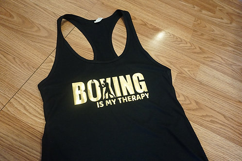Boxing is my Therapy tank top