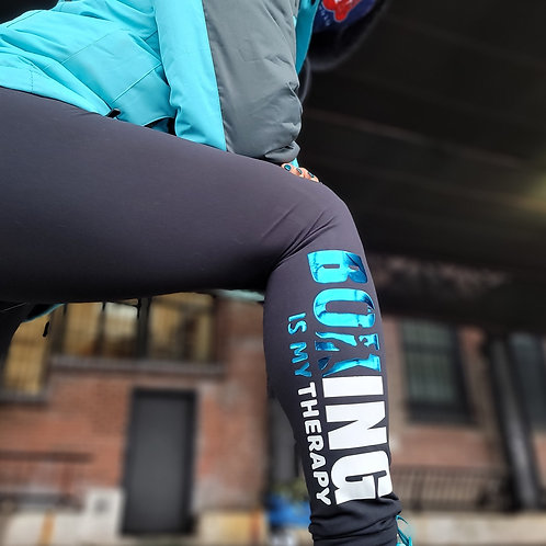 Boxing is my Therapy Leggings