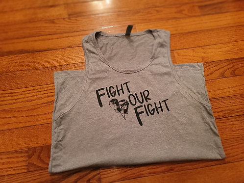 Fight Your Fight men's tank top.