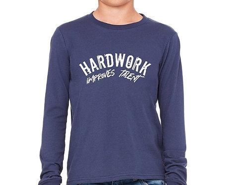 Hardwork Improves Talent long sleeve t-shirt.