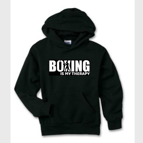 Boxing is my Therapy Pullover Hoodie