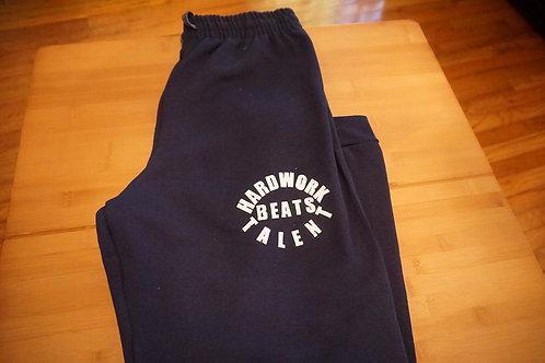 HARDWORK beats TALENT men's sweatpants.