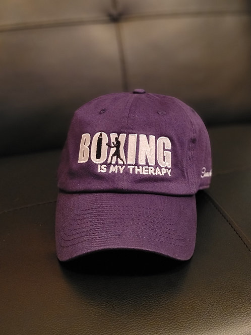 Boxing is my Therap Dad Hat