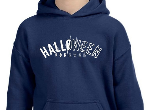 HALLOWEEN FOREVER youth hoodie.