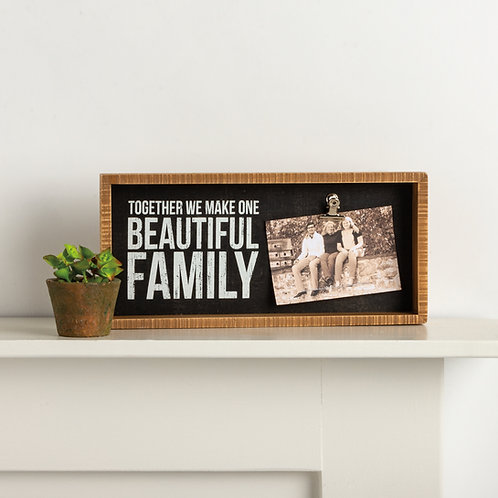 Beautiful Family Clip Frame