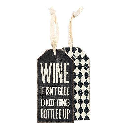 Bottled Up Bottle Tag